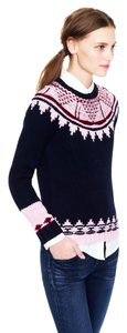 J.Crew Wool Fair Isles Hand Knit Sweater