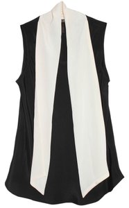 BCBG Paris Top Black and White