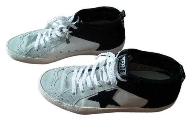 Item - Black White Grey High Tops Sneakers Size US 10