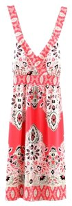 INC International Concepts short dress Coral on Tradesy