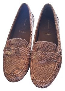 Rockport Penny Loafer Brown/Tan Flats