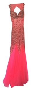 Jasz Couture Gown Bejeweled Pageant Sheri Hill Dress