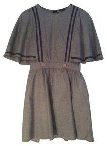 Dear Creatures short dress Navy Chambray Indie Vintage Inspired on Tradesy