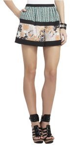 BCBGMAXAZRIA Dress Shorts Green multi