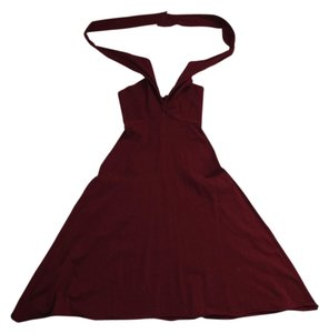 American Apparel short dress Red Convertible on Tradesy