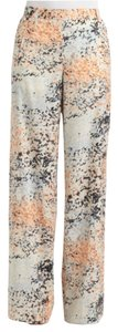 BCBGMAXAZRIA Wide Leg Pants Blue orange multi