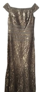 Tadashi Shoji Sequined Gown Motherofthebride Wedding Dress