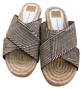 Dolce Vita black and white zebra Sandals