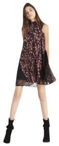 BCBGeneration short dress Crushed berry multi on Tradesy