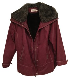Bradley by Bradley Bayou Wine Leather Jacket