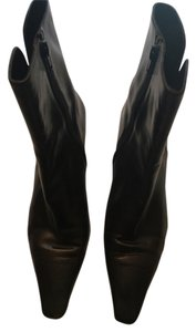 Stuart Weitzman Leather Chocolate Brown Boots