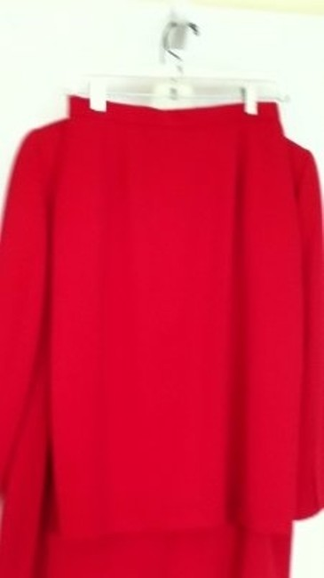 PSI by Alvin Bell SPECIAL SALE professional 2 PC Red Skirt Suit