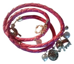 other NWT Pink Wrap Around Charms Bracelet