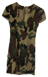 Torn by Ronny Kobo short dress Camo Print on Tradesy