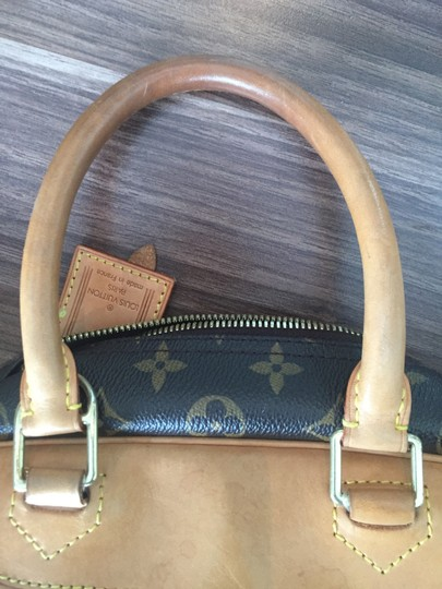 Louis Vuitton Deauville Handbag Canvas Shoulder Bag