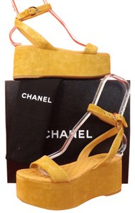 Chanel Dark Beige Sandals