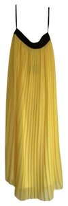 Hive & Honey Maxi Skirt Yellow and black