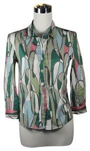 Marni Abstract Classic Blouse Button Down Shirt