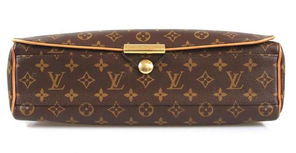 4627b108f6d1 Louis Vuitton Lv Monogram Leather Large Shoulder City Male Men Abbesses  M45257 Brown Messenger Bag Image. 12345678