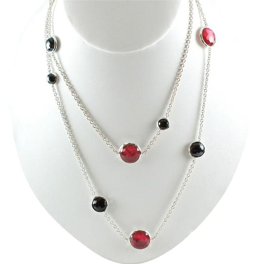 Preload https://item5.tradesy.com/images/ippolita-ippolita-sterling-silver-wonderland-long-chain-necklace-black-onyx-red-rose-40-1287824-0-0.jpg?width=440&height=440