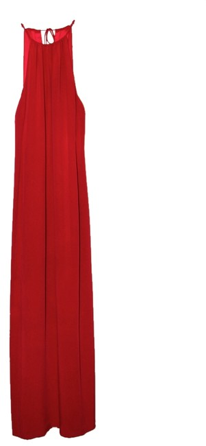 Lida Baday Evening Gown Long Silk Halter Style Dress