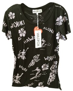 Wildfox T Shirt dark brown