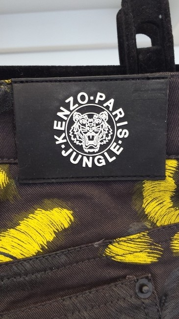 Kenzo Jungle Straight Leg Jeans