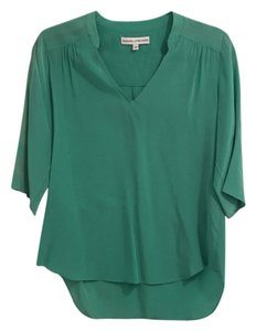 Amanda Uprichard Top Bluish Green