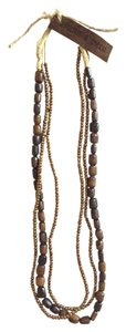 Twine and Twig Layered Beaded Necklace