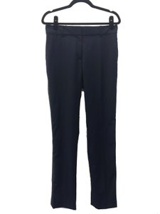 Sandro Woman Dress Straight Pants Navy