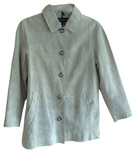 Monterey Bay GRAY SUEDE Leather Jacket