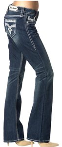 Rock Revival These Are Stretchy Easy Boot Cut Jeans-Medium Wash