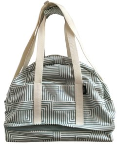 Kate Spade Saturday Weekender Steel Blue/Signature Zig Zag Travel Bag