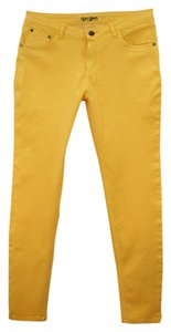 Oxygen Skinny Pants yellow