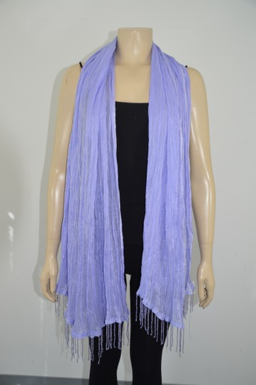 Other Laila Rowe Purple Beaded Women Shawl/Wrap Size Large Made in India On Sale.