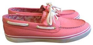Sperry Topsiders Pink Athletic