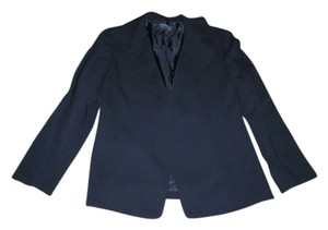 Lafayette 148 New York Career Solid Size 6 Wool Black Blazer