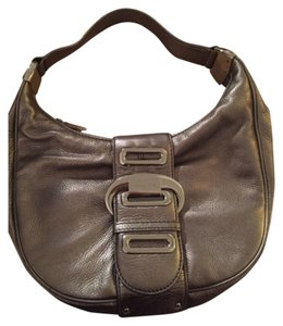 Michael Kors Leather Hardware Shoulder Bag