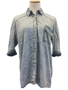 Double Agent Jacket Button Down Shirt Denim