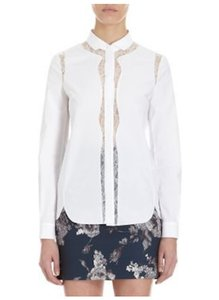 Barneys Co-Op Button Down Shirt White