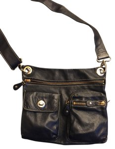 Roots of Canada Leather Cross Body Bag