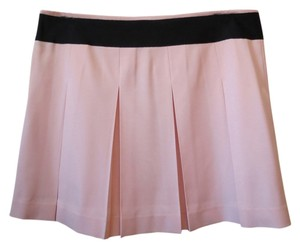 Theory Pleated Mini Mini Skirt Light pink