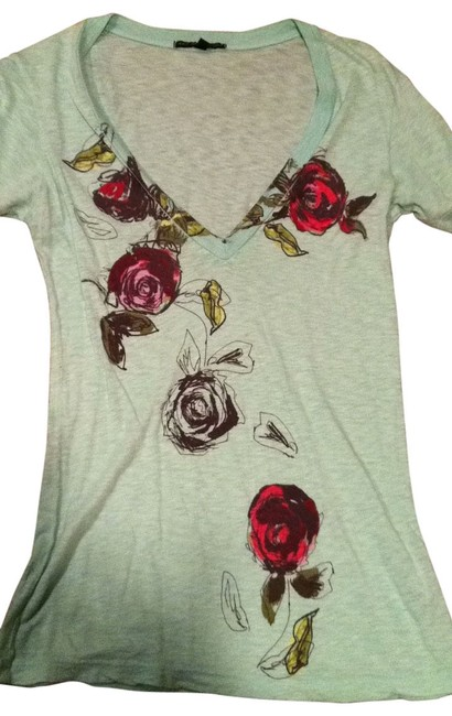 Preload https://item1.tradesy.com/images/truly-madly-deeply-green-mint-cute-tee-shirt-size-6-s-128815-0-0.jpg?width=400&height=650