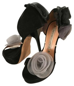 Glanmarco Lorenzi Black Sandals