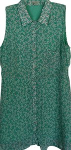 Lucca Couture short dress Mint Green Sea Breeze Floral Flower Spring on Tradesy