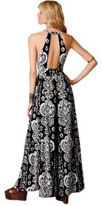 Free People Maxi Paisley Wide Leg Dress