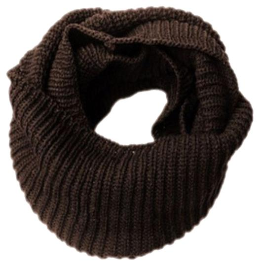 Other New Brown Knit Infinity Scarf Image 0