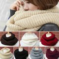 Other New Brown Knit Infinity Scarf Image 1