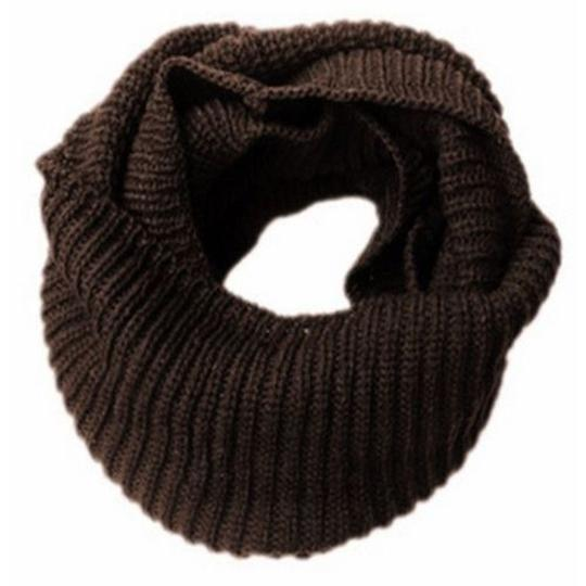 Other New Brown Knit Infinity Scarf Image 2