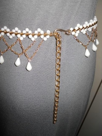 Other Vintage beaded chain belt
